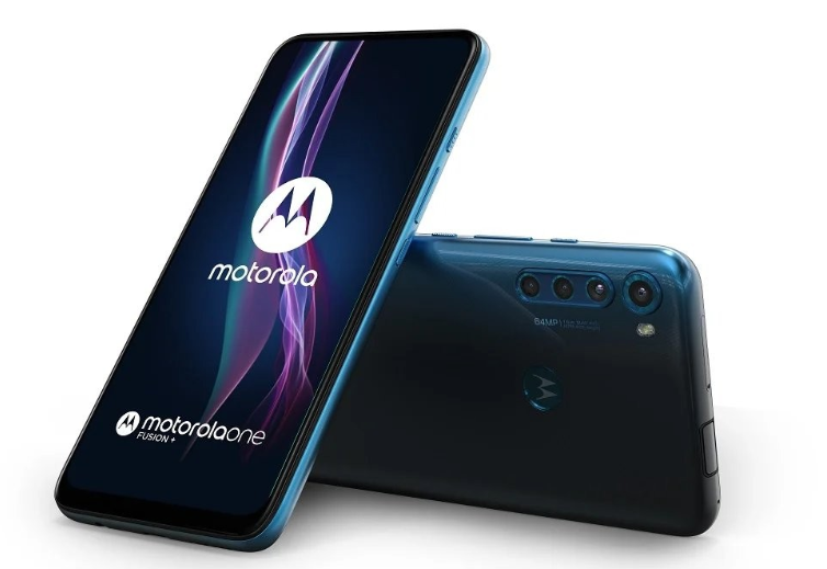 Motorola One Fusion + Twilight Blue