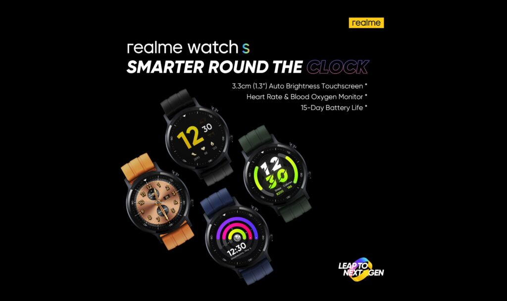 realme Watch S Teaser