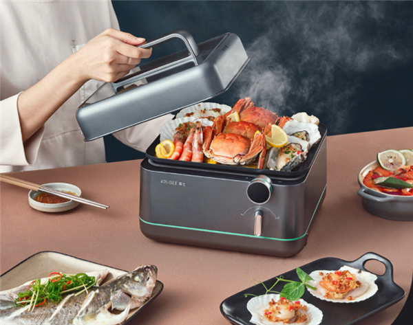 Xiaomi Youpin Crowdfunds le KRIBEE Multi-Function Fast Steamer 5S